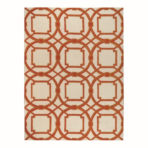 Arabesque Rug-Coral