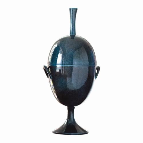 Ovoid Jar w/Handle-Celestial