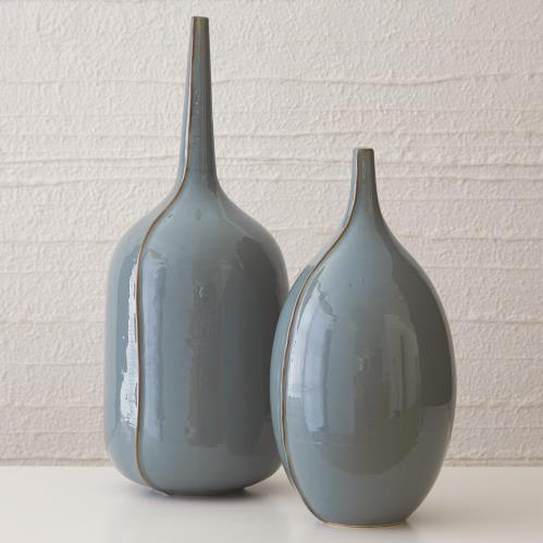 Milo Vase-Blue