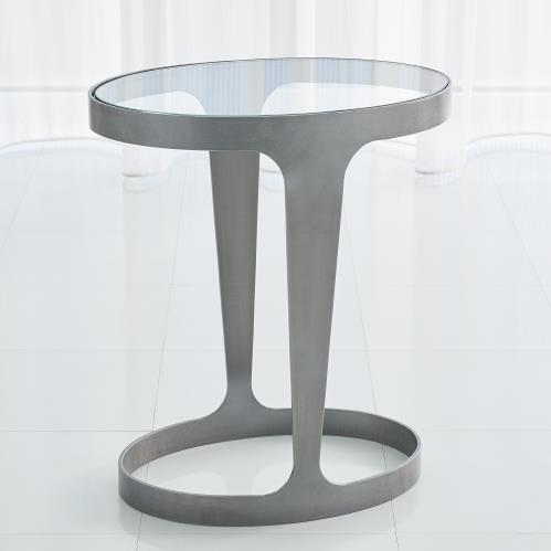 Oslo Accent Table-Iron