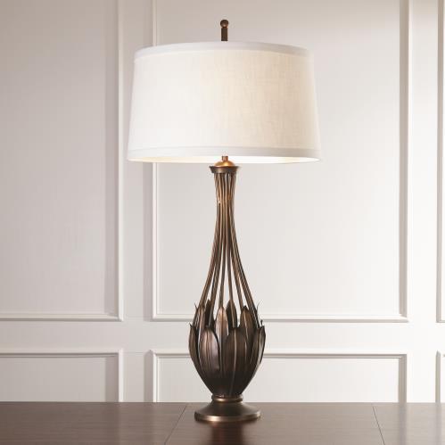 Leaf Cage Lamp-Light Bronze