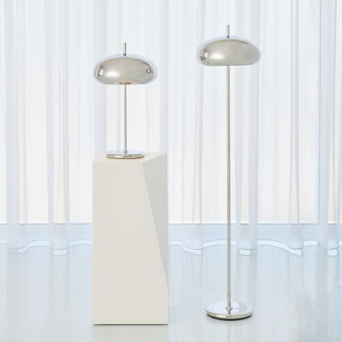 Dome Lamps - Nickel