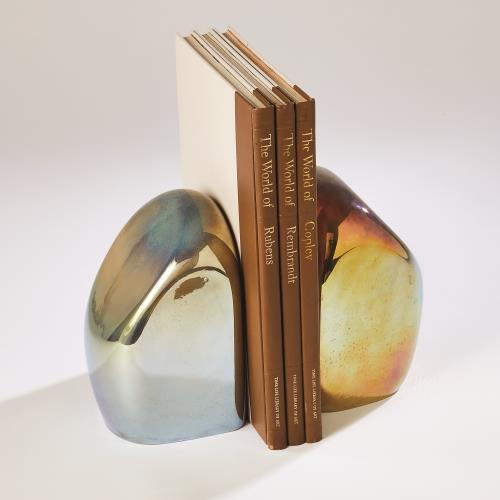 Chunk Bookend-Iris Gelp