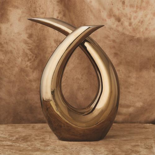 Loop Sculpture-Bronze