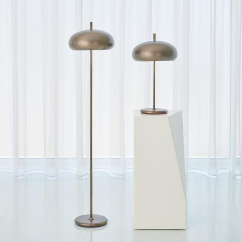 Dome Lamps - Light Bronze