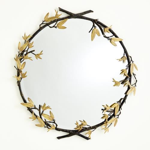 Bamboo Mirror-Bronze
