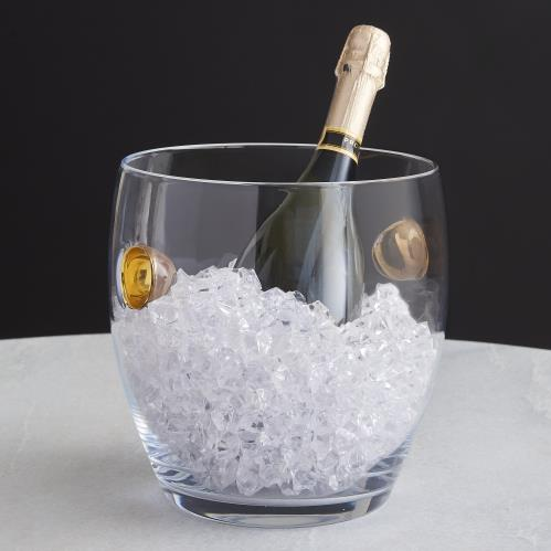 Golden Chill Ice Bucket