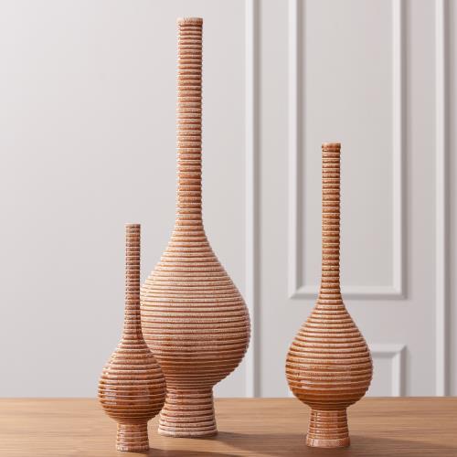 Japan Vase-Vermillion