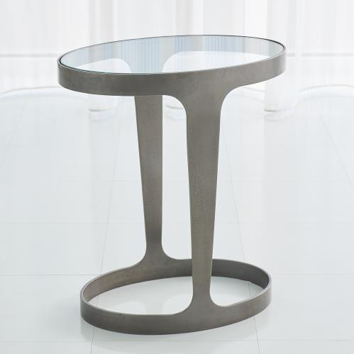 Oslo Accent Table-Bronze