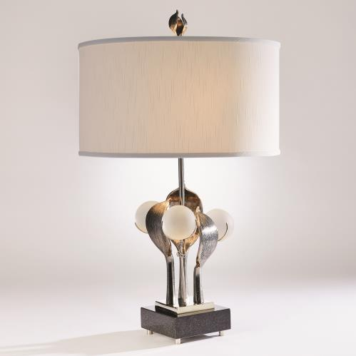 Eden Table Lamp-Nickel
