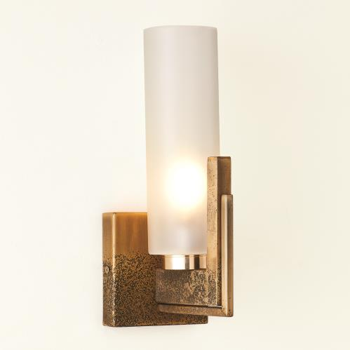 Stoic Sconce-Ombre Brass-HW