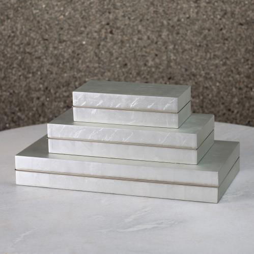 Nouveau Luxe Box-Silver Leaf