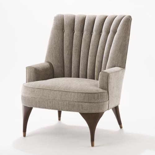 Duncan Chair-Silversmith Fabric