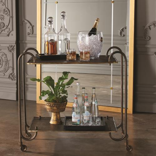 Blade Bar Cart-Bonze