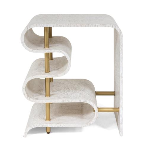 Traverse Side Table-White