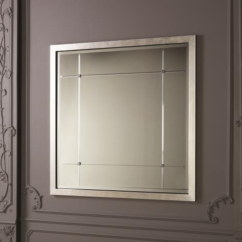 Beaumont Mirrors - Silver Leaf