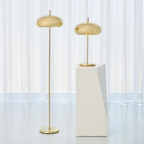 Dome Lamps - Brass