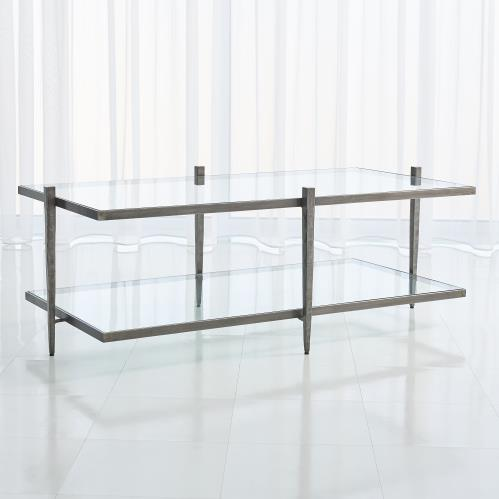 Laforge Cocktail Table - Natural Iron