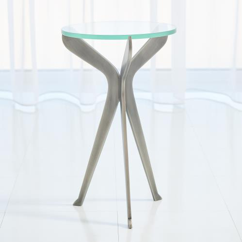 Slice Tripod Table-Gunmetal