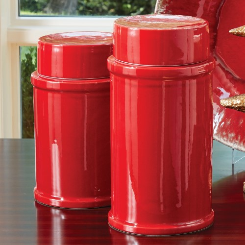 Red Zinger Jar