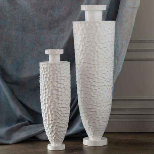 Monumental Chiseled Vase
