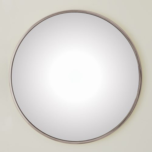 Hoop Flat Mirror - Nickel