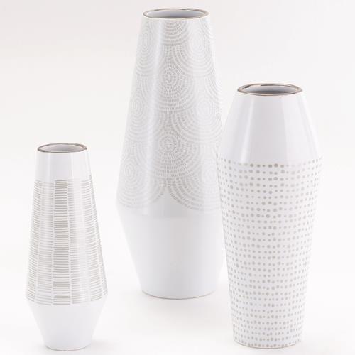 Ballinger Vase-Silver