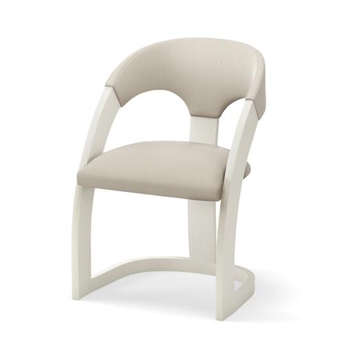 Delia Chair-Antique White-Muslin