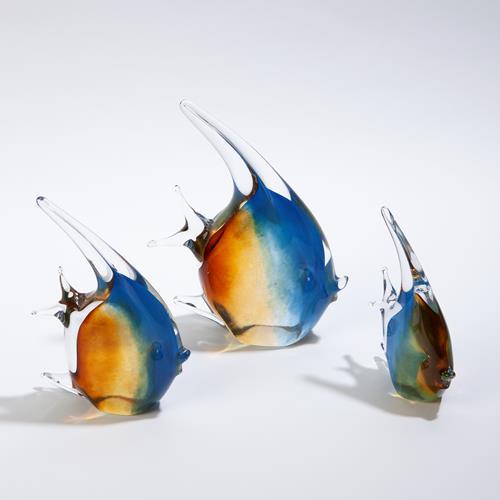 Angelfish-Blue/Amber