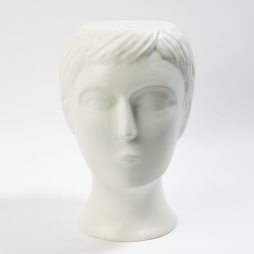 Bijorn Stool-Matte White
