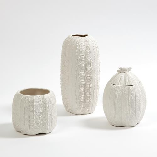 Urchin Collection-Bisque White