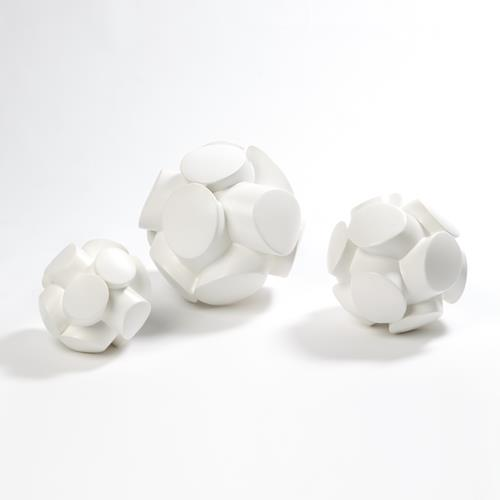Mayet Sculpture-Matte White