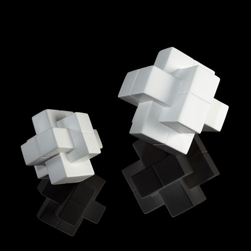 Oblong Cube-Matte White
