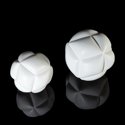Diamond Sphere-Matte White