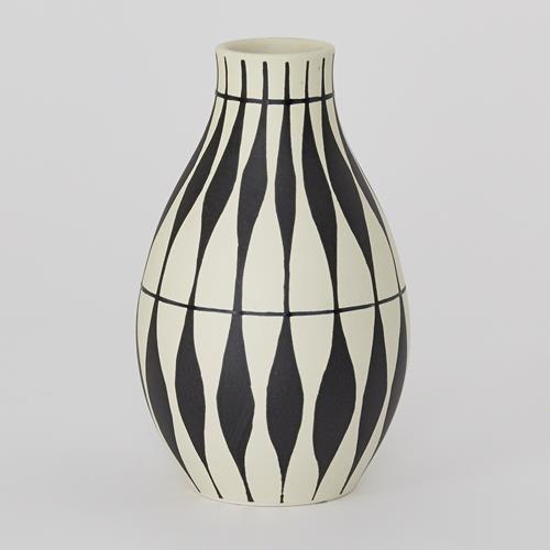 Napoli Vase-Leaf Pattern