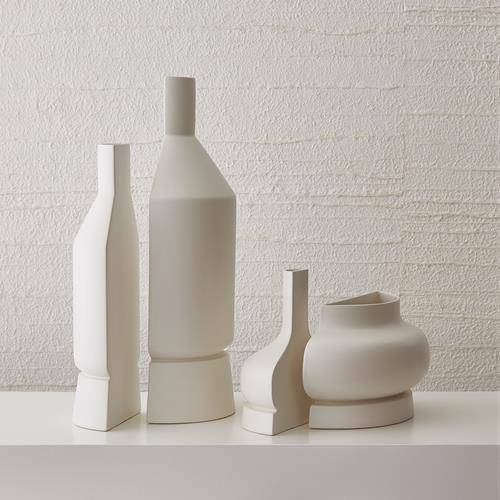 Flat Back Collection - Matte White