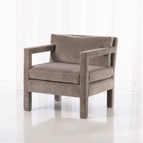Swank Club Chair-Grey