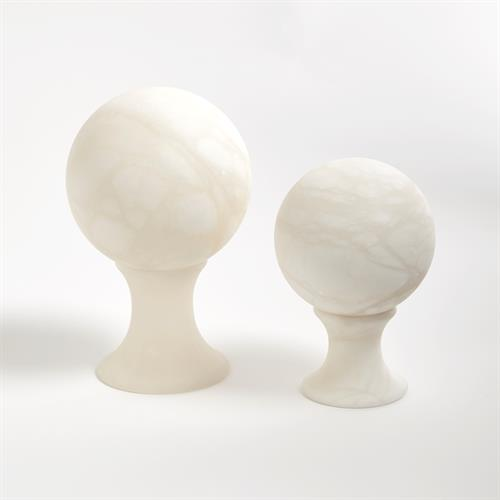 Alabaster Sphere Stands