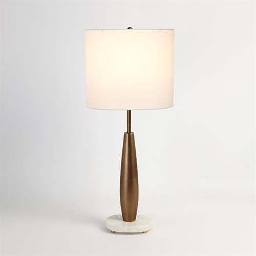 Tapering Buffet Lamp-Light Bronze