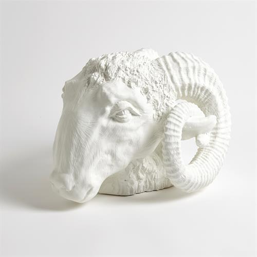 Capricorn Sculpture-Matte White