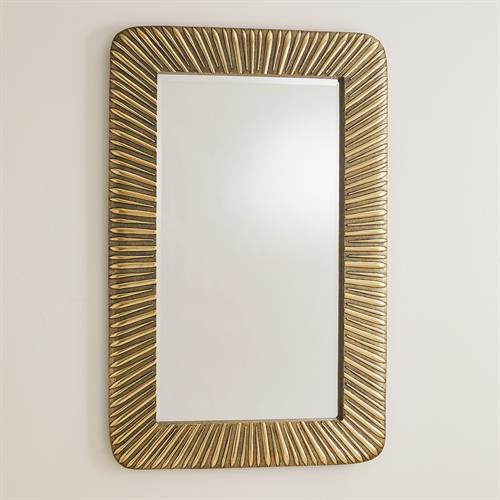 Valencia Mirror-Antique Brass