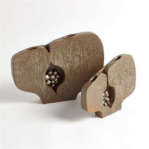 Seed Pod Vases-Metallic