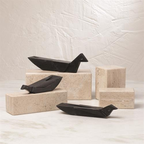 Houilles Bird-Black Marble