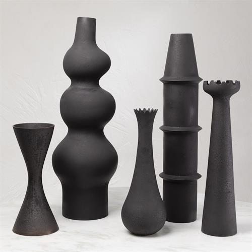 Overscale Vase-Black