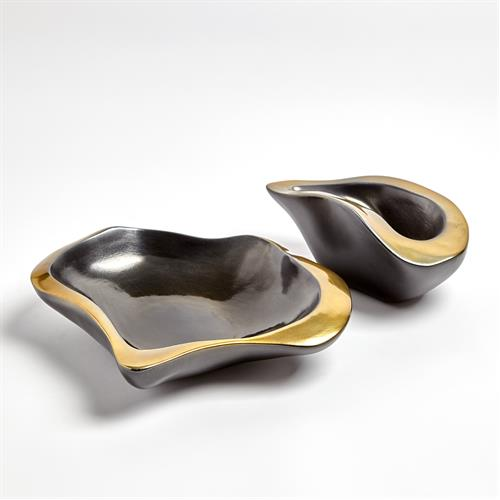 Formation Bowls-Black/Gold