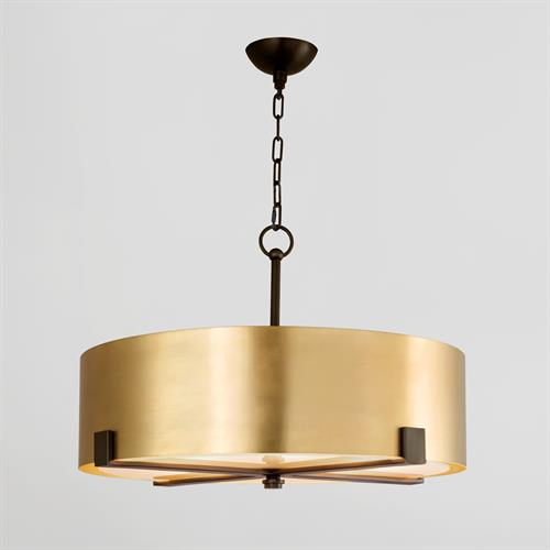 Empire Pendant-Brass/Bronze