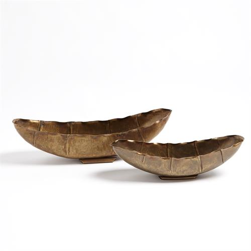 Larkin Bowls-Antique Brass