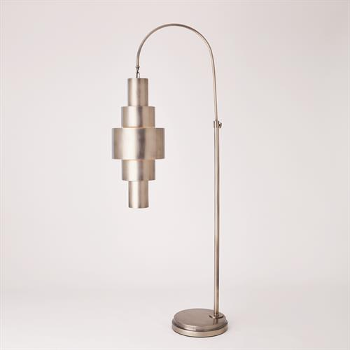 Babylon Floor Lamp-Antique Nickel