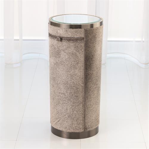 Hudson Tray Table-Grey Hair-on-Hide