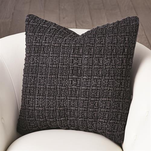 Mystic Pillow-Stone Wash Black